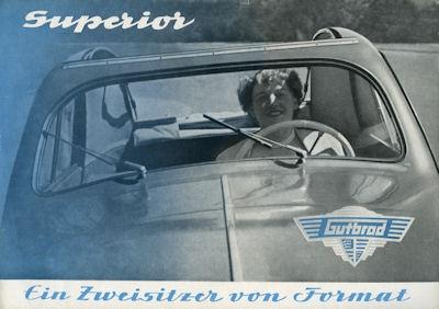 Gutbrod Superior Prospekt ca. 1952