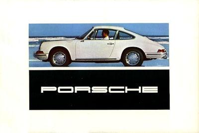 Porsche 911 Prospekt 8.1967