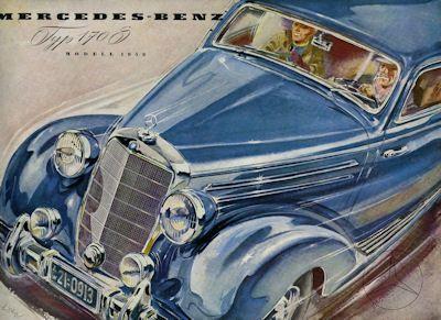 Mercedes-Benz 170 S Prospekt 1952