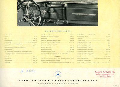 Mercedes-Benz 170 S Prospekt 1952 2