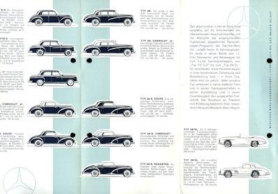 Mercedes-Benz Programm X.1954 1