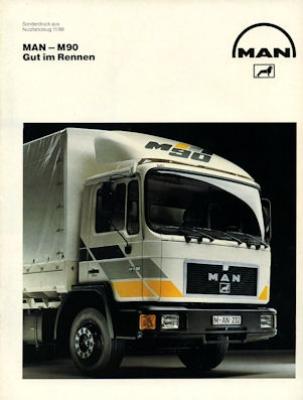 MAN M 90 Test 1989