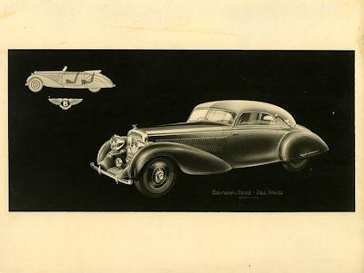 Bentley-Erdmann & Rossi Werbung 1930er Jahre