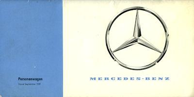 Mercedes-Benz Programm 9.1959