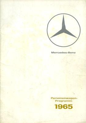 Mercedes-Benz Programm 1965 0