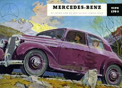 Mercedes-Benz 170 S Prospekt 1952 sp 0
