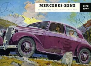 Mercedes-Benz 170 S Prospekt 1952 sp