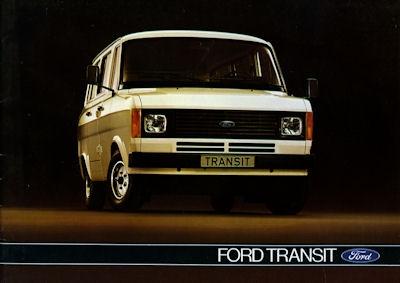 Ford Transit Prospekt 1980