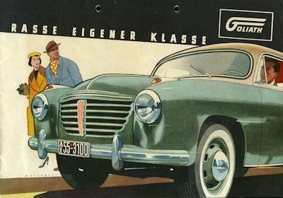 Goliath GP 700 E Prospekt ca. 1955