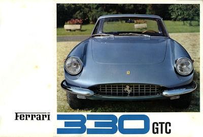 Ferrari 330 GTC Prospekt ca. 1966 0