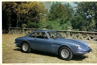 Ferrari 330 GTC Prospekt ca. 1966 1