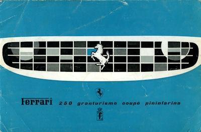 Ferrari 250 Grandturismo Coupé Pininfarina Prospekt ca. 1960 it