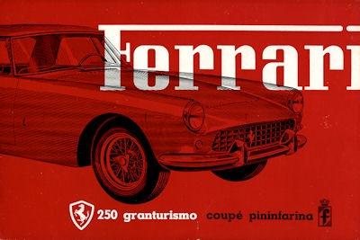 Ferrari 250 GT Grandturismo Coupé Pininfarina Prospekt 1958-1960 it