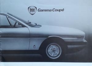 Lancia Montecarlo Prospekt ca. 1980 it