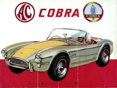 AC Cobra Prospekt 1965