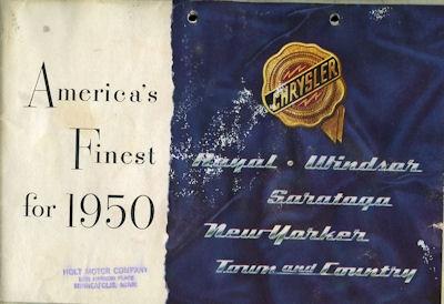 Chrysler Programm 1950 e