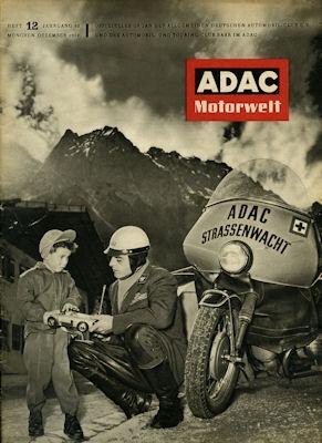 ADAC Motorwelt 1957 Heft 12