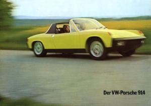 Porsche 914 Prospekt 1974
