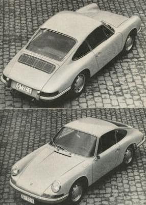 Porsche 901 Test 1964 1