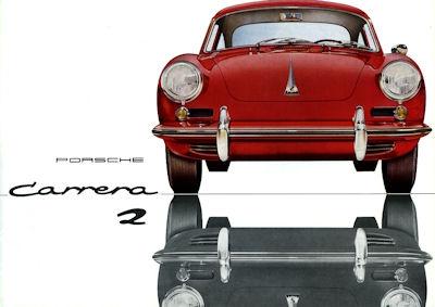 Porsche 356 B Carrera 2 Prospekt 4.1963