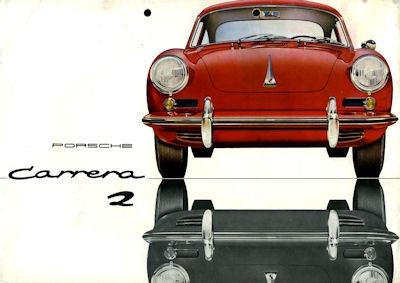 Porsche 356 B Carrera 2 Prospekt 7.1962