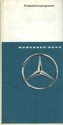 Mercedes-Benz Programm 1967