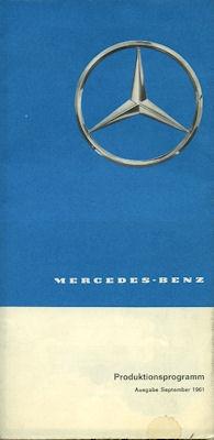 Mercedes-Benz Programm 1962