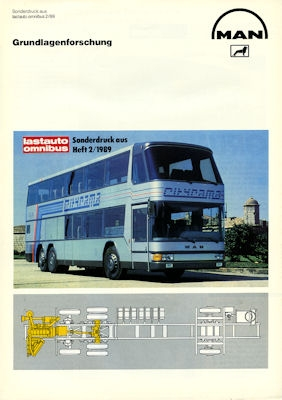 MAN Bus Test 1989