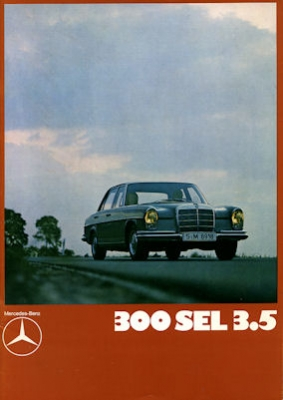 Mercedes-Benz 300 SEL 3.5 Prospekt 1970