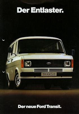 Ford Transit Prospekt 1978