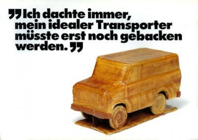 Ford Transit Prospekt 1981
