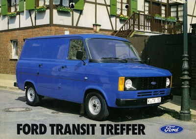 Ford Transit FT 80 Prospekt 1981