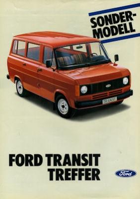 Ford Transit Treffer Prospekt 1982