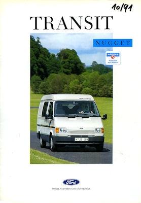 Ford Transit Nugget Prospekt 1989