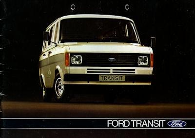 Ford Transit Prospekt 1979