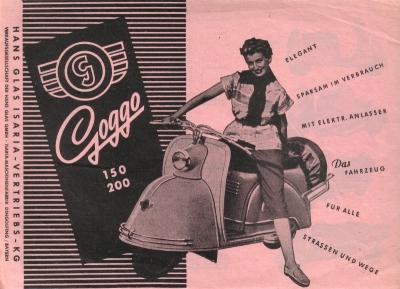 Goggo Programm 1950er Jahre