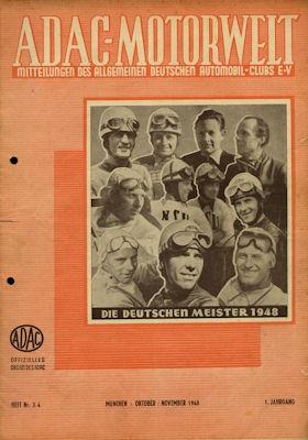 ADAC Motorwelt 1948 Heft 3-4