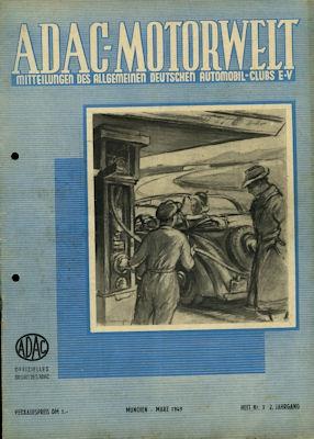 ADAC Motorwelt 1949 Heft 3