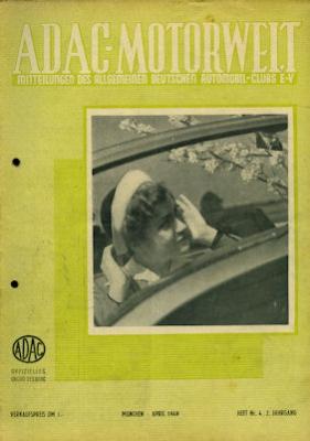 ADAC Motorwelt 1949 Heft 4