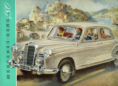 Mercedes-Benz 180 Prospekt 1954 sp