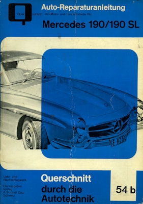 Mercedes-Benz 190 SL Reparaturanleitung ca. 1960