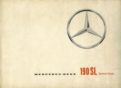 Mercedes-Benz 190 SL Prospekt 1962 f