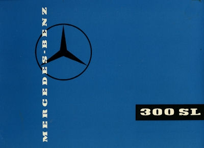 Mercedes-Benz 300 SL Prospekt 1960 e