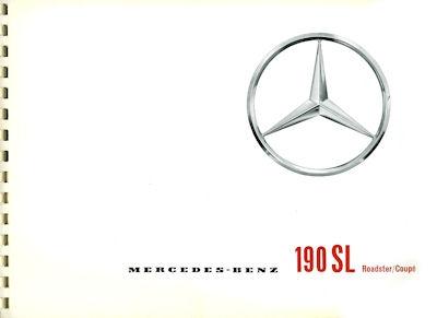Mercedes-Benz 190 SL Prospekt 1960 f
