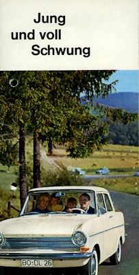 Opel Kadett A Prospekt ca. 1963