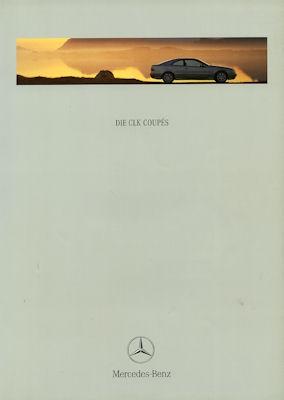 Mercedes-Benz CLK Coupés Prospekt 7.1999