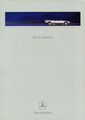 Mercedes-Benz CLK Cabriolet Prospekt 2000