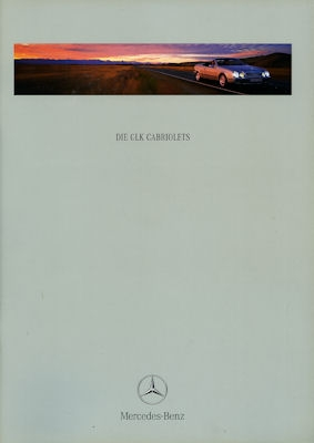 Mercedes-Benz CLK Cabriolet Prospekt 1998