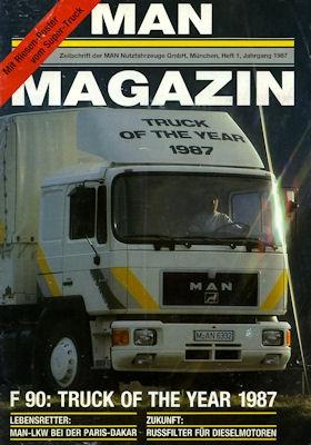 MAN Magazin 1985-1990 16 Stück