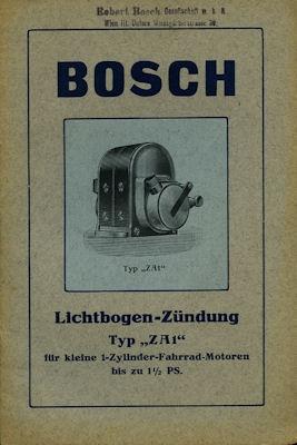 Bosch Lichtbogen Zündung Typ ZA 1 ca. 1918